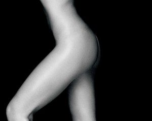 Womans Body Black And White