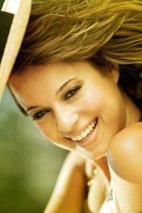 Beautiful Woman Enjoying Summer