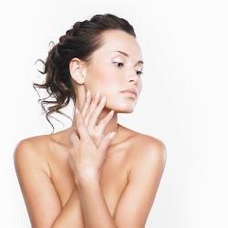 Young Woman Glowing Skin